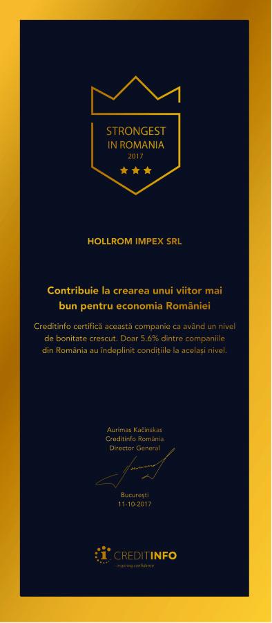 Strongest în România 2017